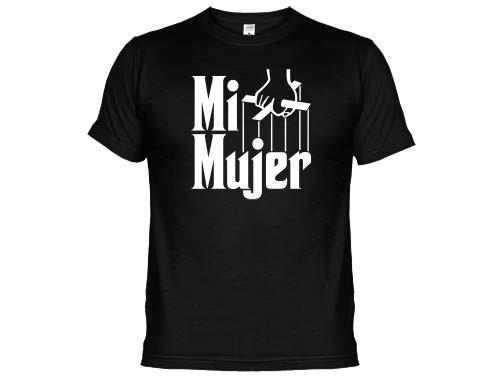 Camiseta mi mujer el padrino