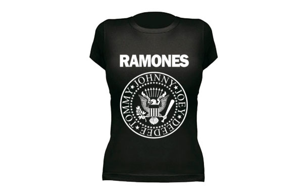 Camiseta ramones chica