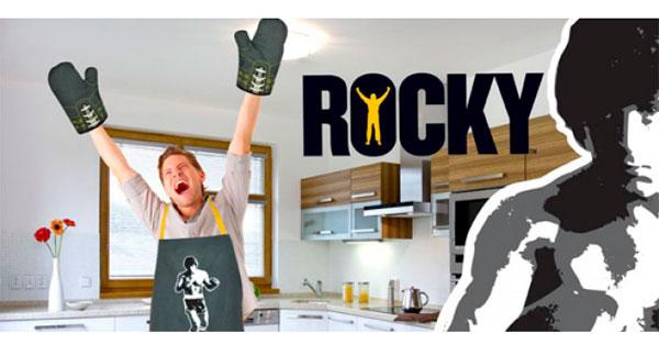 Delantal y Manoplas de Rocky