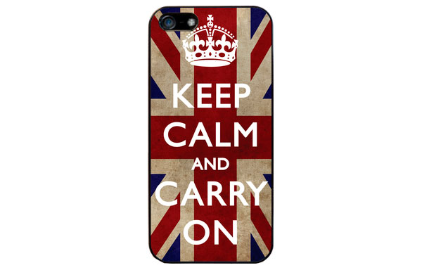 Funda iPhone keep calm para ella