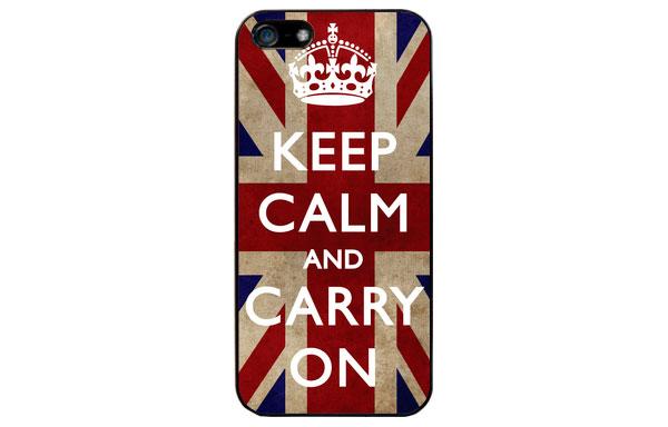 Funda iPhone keep calm para ella
