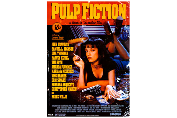 Poster retro de Pulp Fiction