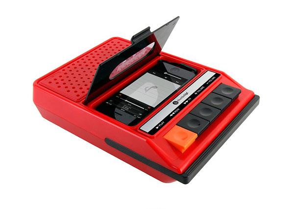 Radio Cassette retro para iPone