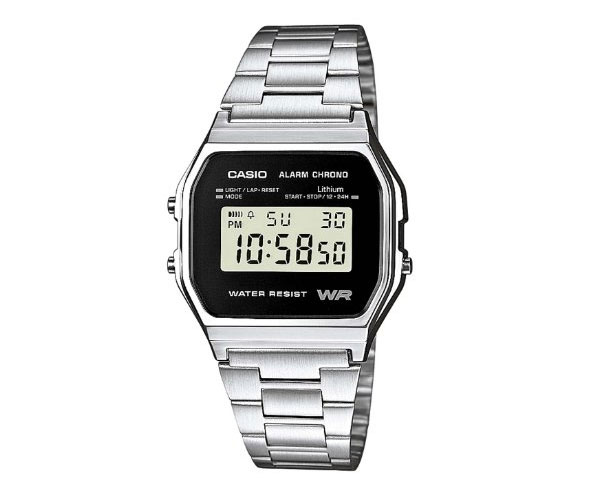 Reloj retro Casio color plata