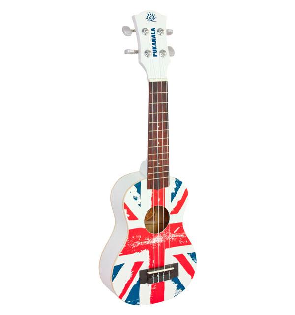Ukelele Soprano bandera Inglaterra
