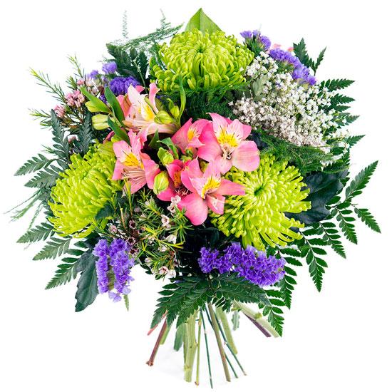 Ramo flores de colores para madres