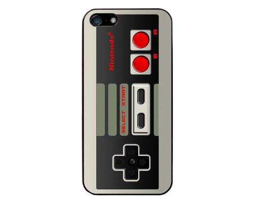 Funda para el iPhone mando de Nintendo