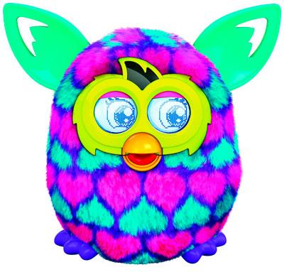 Furby Boom Rosa con corazones
