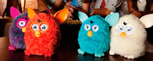 Furbys de colores con personalidad propia