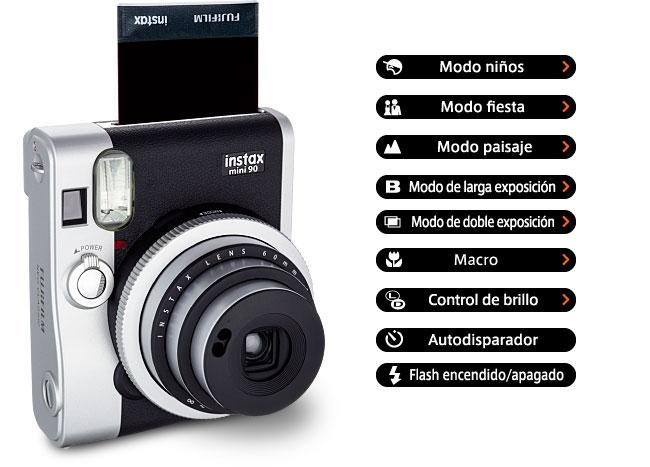 Cámara fotográfica Instax mini 90
