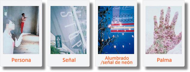Fotos de montajes realizados con doble exposición