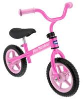 Bicicleta sin pedales rosa para niñas