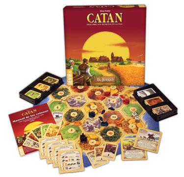 CATAN - Negocia con tus rivales para ser el vencedor