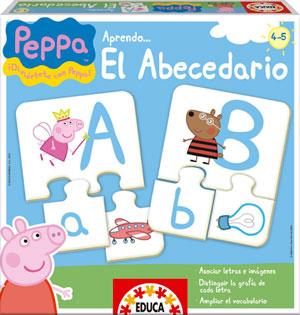 Juegos de mesa educativos infantiles Peppa Pig